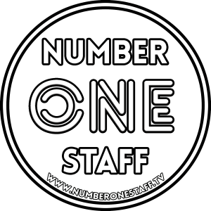 NUMBER-ONE-STAFF-adesivo